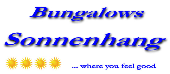 Bungalows Sonnenhang ...where you feel good